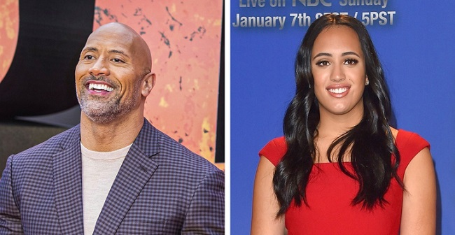 Dwayne Johnson's daughters