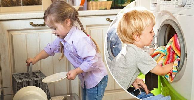 Household chores are good for children