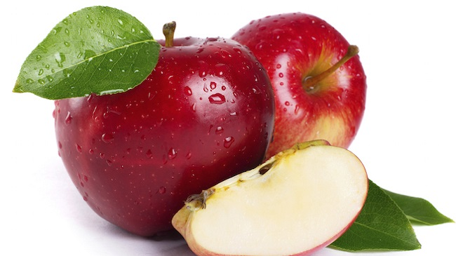 Apples are high in nutrients