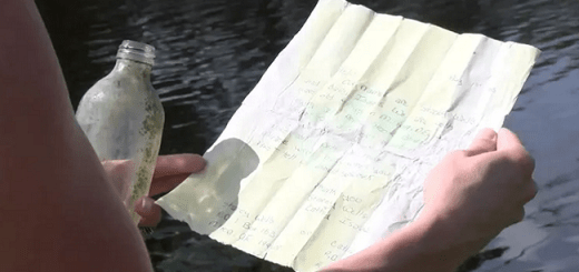 Author Reunited With A 35-Year-Old Message In A Bottle Thanks To A Kayaker