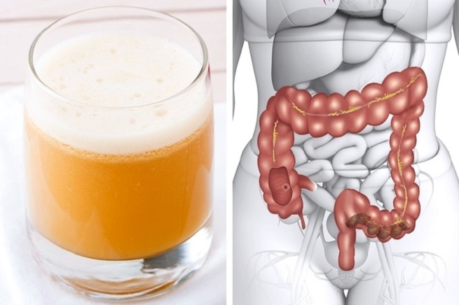 How to make a homemade colon cleansing juice