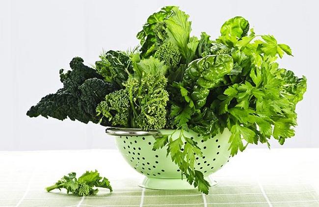 Leafy green vegitables