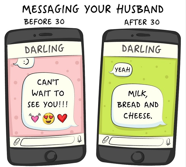 Messaging your partner