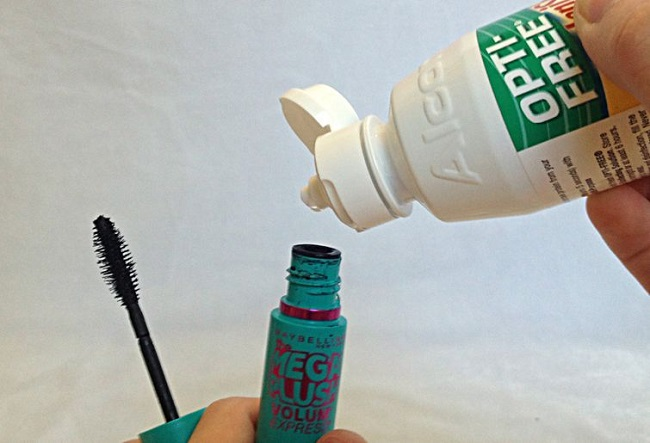 New life to your dried mascara