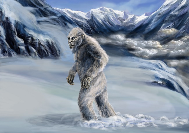 The story of the yeti