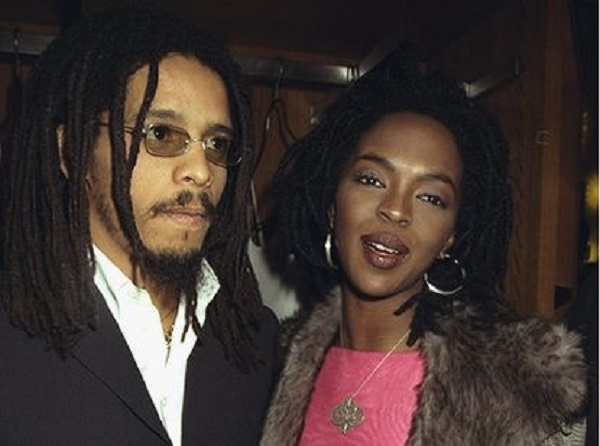 Rohan Marley and Lauryn Hill