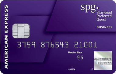 The Starwood Preferred Guest® Business Credit Card from American Express
