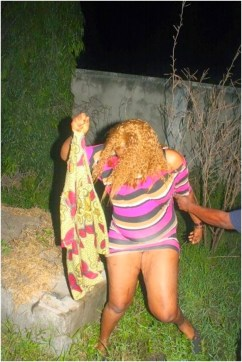 RECALLING EXPOSED PICS OF WOMAN CAUGHT RED-HANDED HAVING SEX IN THE BUSH...MAN ESCAPED! (2014)