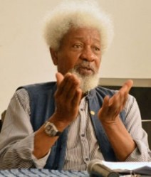 "SOYINKA PRAISES THE PEACE ACCORD BETWEEN PDP,APC AND OTHER PARTIES...CALLS IT A ""POSITIVE STEP IN THE DIRECTION OF DEMOCRACY"""