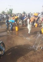 SEE WHAT HAPPENED ON THE STREETS OF DAURA AFTER GEJ'S VISIT YESTERDAY