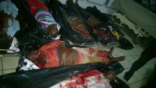 IT WAS WORSE THAN WE THOUGHT! SEE DEAD BODIES FROM ABUJA BOMBING LAST NIGHT (VIEWER DISCRETION ADVISED)