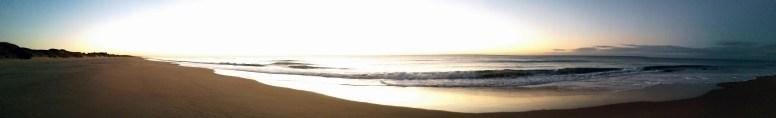 Early dawn panoramic