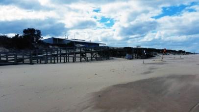 SeaSpray SLSC Note: vehicle top of boardwalk contain vigilant lifeguards