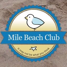 Logo on sand