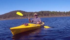 Paddling Lake Birrabeen