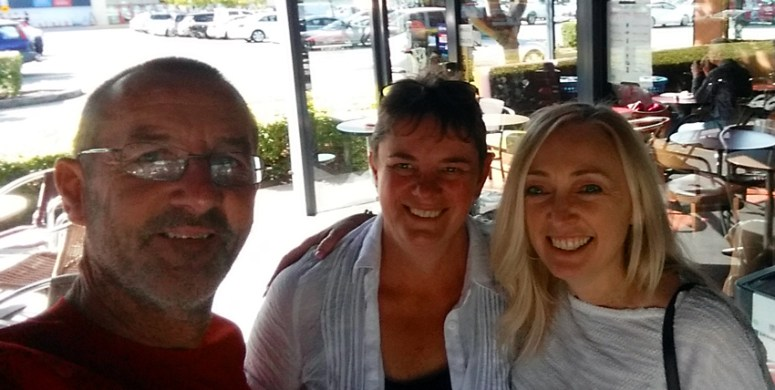 Great to catch up with Leanne in Brissy
