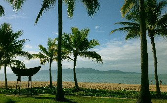 Magnetic Island from Townsville's Strand