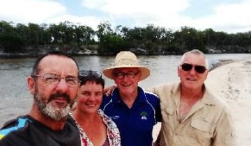 The team at Jardine River