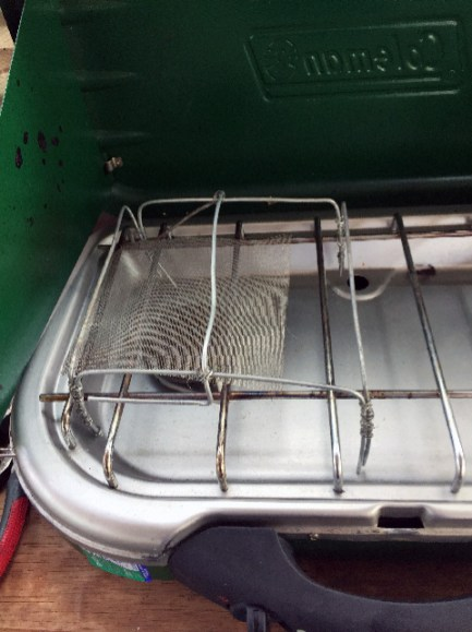 Geoff's homemade toaster, absolutely amazing craftsmanship
