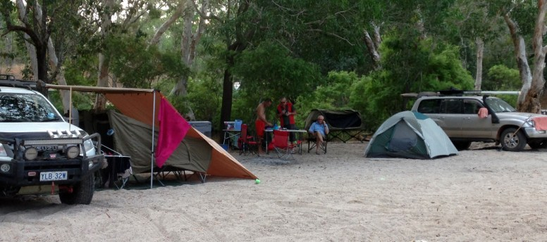 One of the campsite