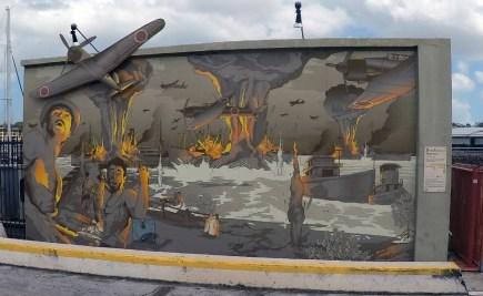 Stokes Hill Wharf artwork