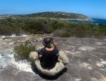 Great viewing rock