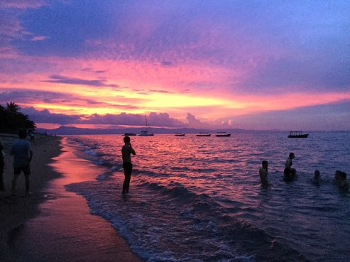 Typical Lake Malawi sunset