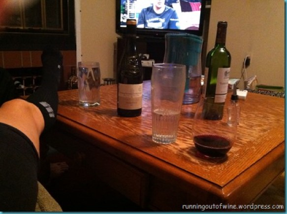 wine and compression