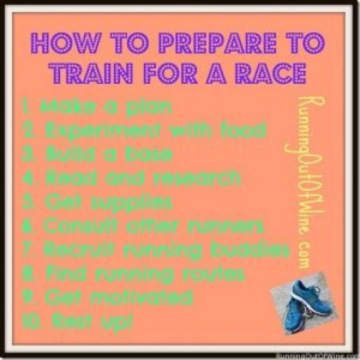 How To Prepare To Train For A Race
