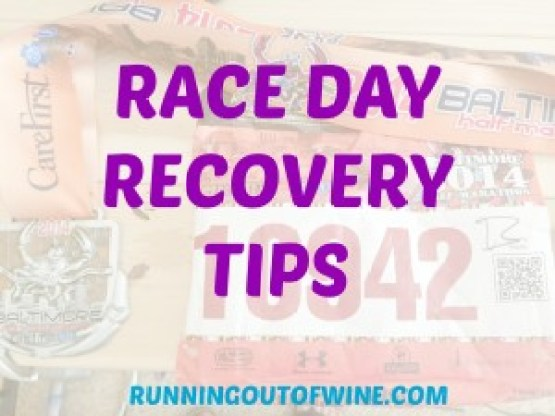 Race Day Recovery Tips