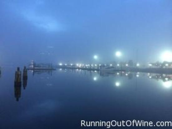 foggy harbor run