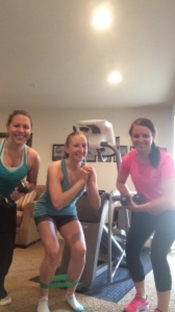 sisters workout