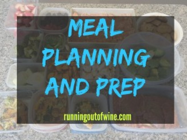 meal planning and prep