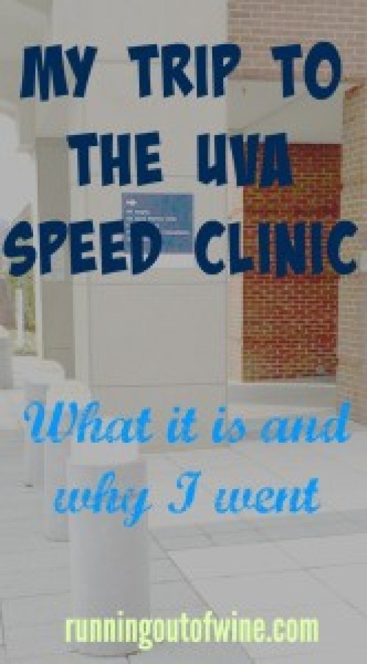 UVA speed clinic: what it is and why I went