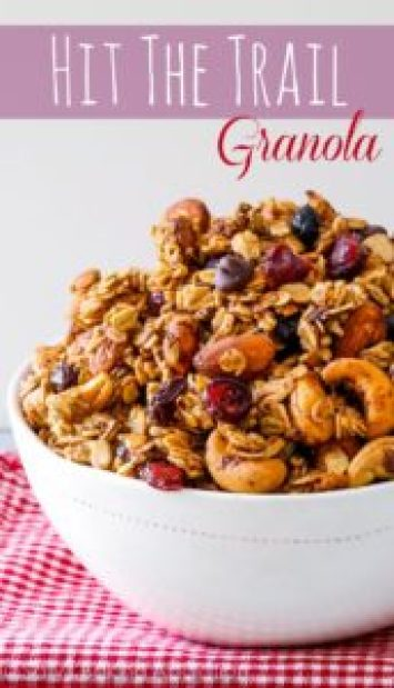 trail mix granola