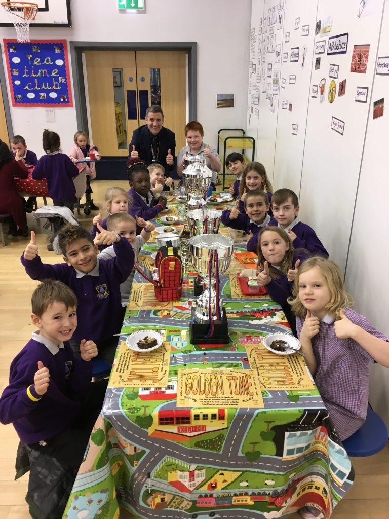 Golden Ticket Winner's Lunch with Mr Allen. Monday 18th November 2019