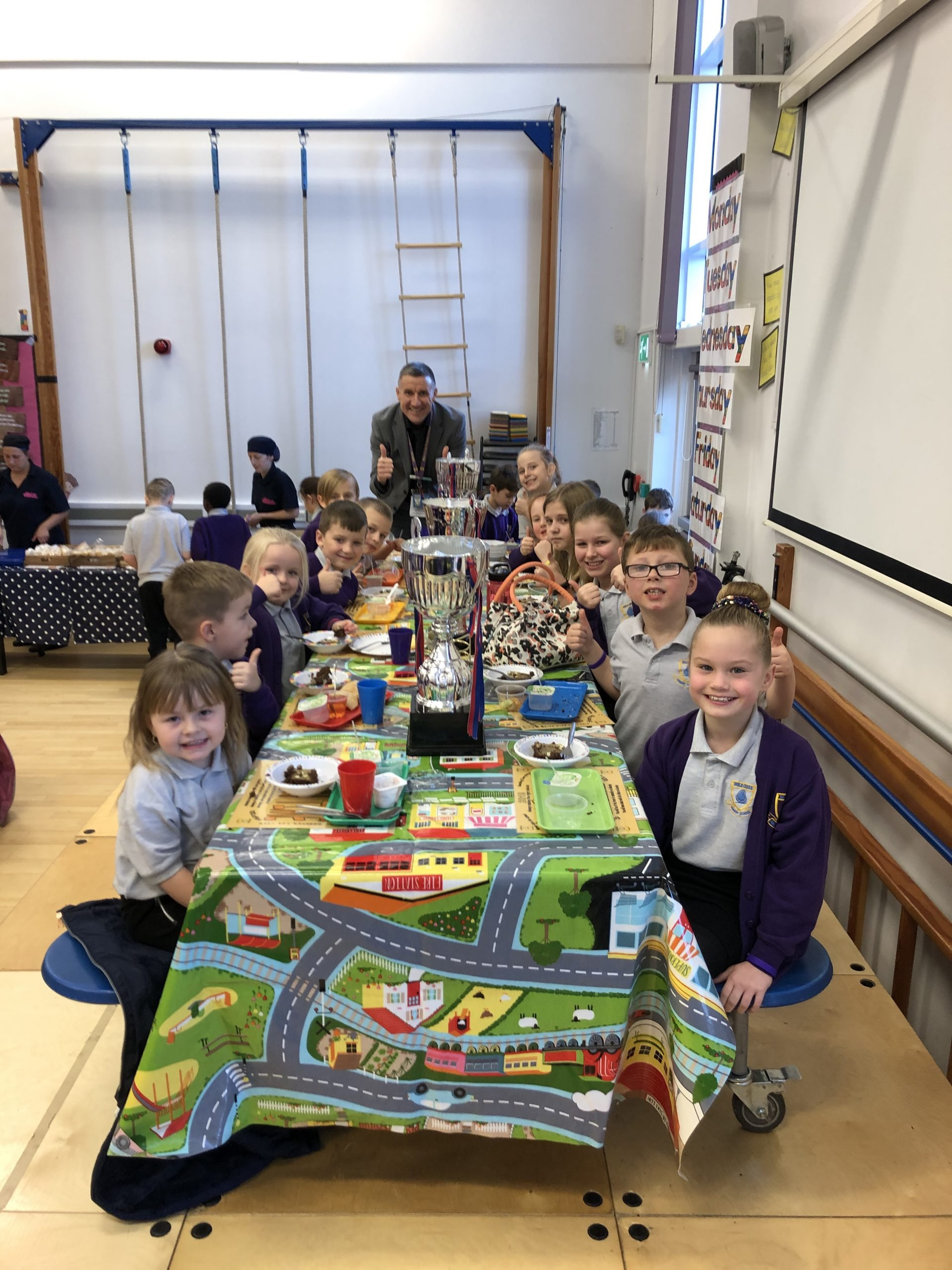 Golden Ticket Winner's Lunch with Mr Allen. Monday <br>2nd December 2019