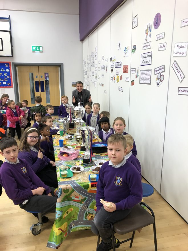 Golden Ticket Winners Lunch with Mr Allen. Monday 25th November 2019