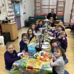 Golden Ticket Winners Lunch with Mr Allen. Monday 24th January 2020