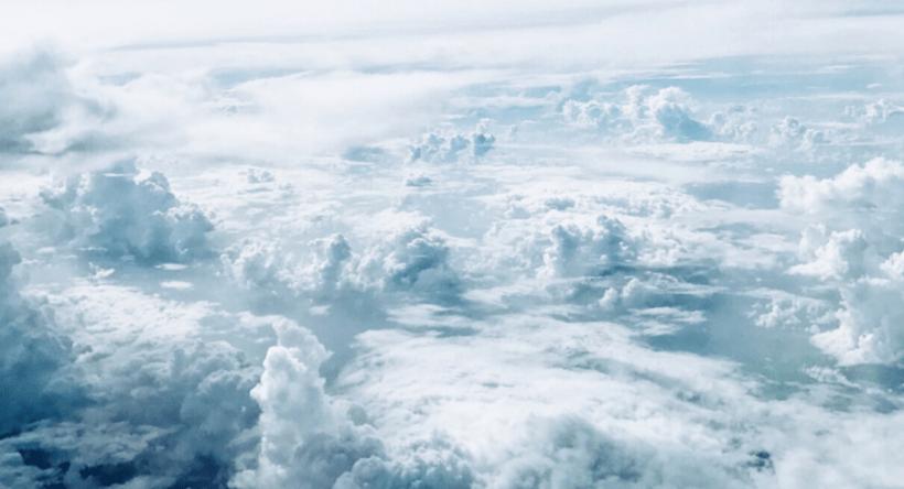 développer sa créativité, image de nuages.