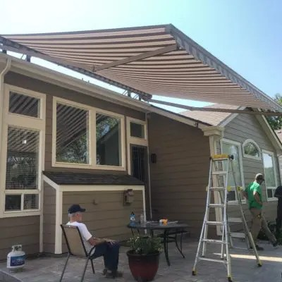 Mile High Shade specializes in residential and commercial retractable awning sales, installation, maintenance and repair, including expert awning cleaning.