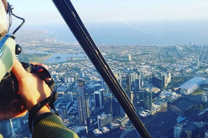 Heliopter tour melbourne