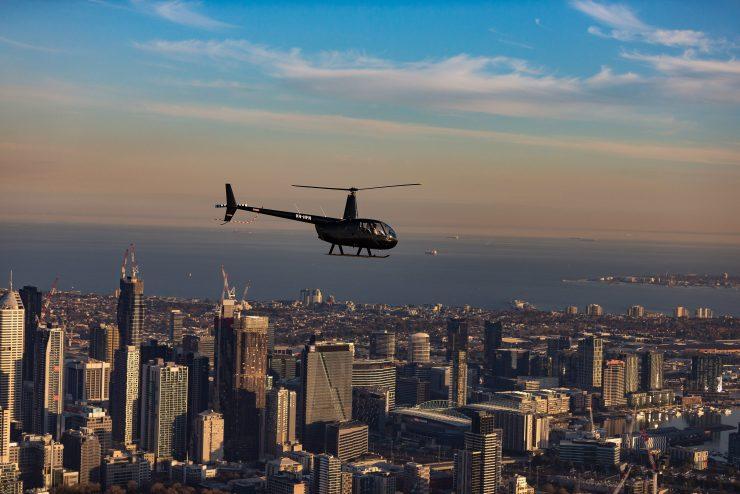 Helicopter flight melbourne