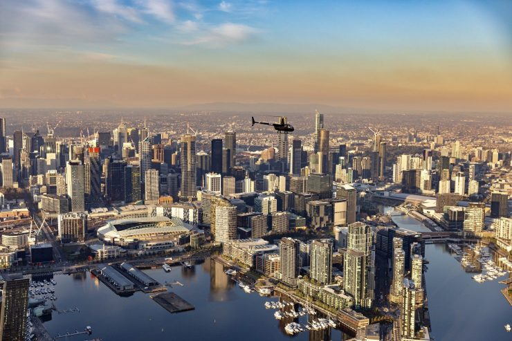 helicopter tour melbourne