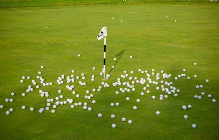 Golf Ball drop