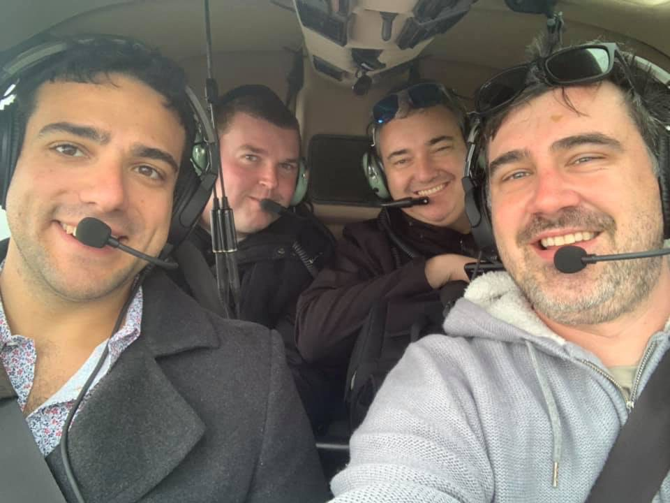 Helicopter rides, Melbourne tour,