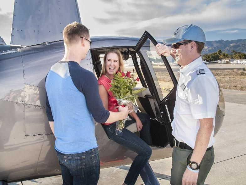 Charter, Helicopter, Scenic flights