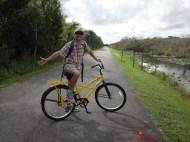 03 Biking through the Everglades at Shark Valley Visitor Center