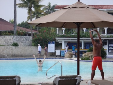 Water aerobics for one