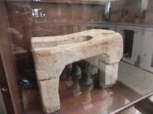 Ancient Egyptian toilet
